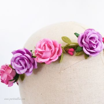 Alice - Couronne de Roses Duo