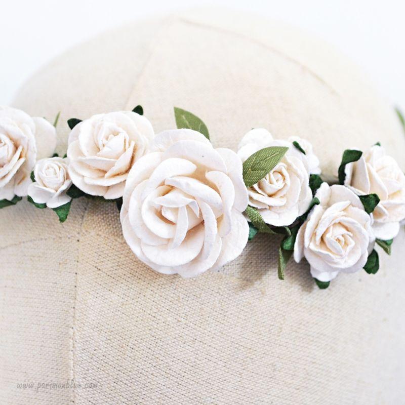 Couronne De Fleurs Blanches Mariage