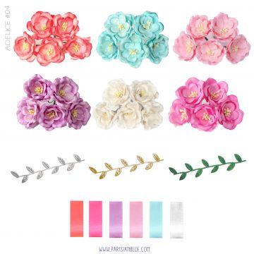 Aurora - Sur Mesure - Couronne De Magnolias