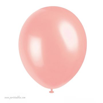 ballon nacré peche corail anniversaire petite fille theme fee dragee baby shower fille anniversaire luxe paris baby shower fille