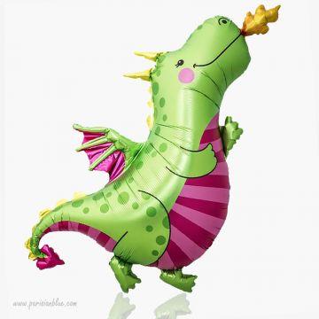 ballon aluminium dragon animal ballon mylar fee ballon forme fee fairy balloon norsthsar anniversaire petite fille princesse