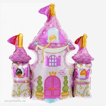 ballon aluminium chateau princesse ballon mylar fee ballon forme fee fairy balloon norsthsar anniversaire princesse fete fée