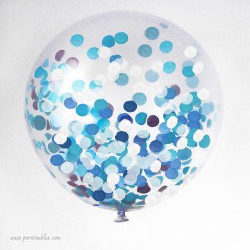 maxi ballon confettis