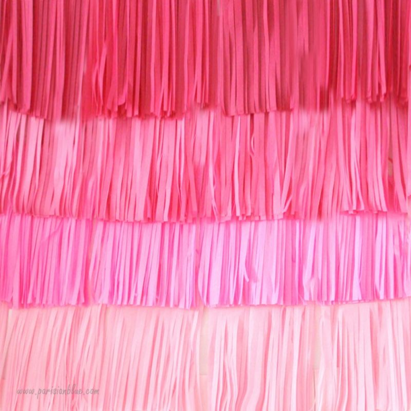 mur de pompons franges pour photobooth ou d coration. Black Bedroom Furniture Sets. Home Design Ideas