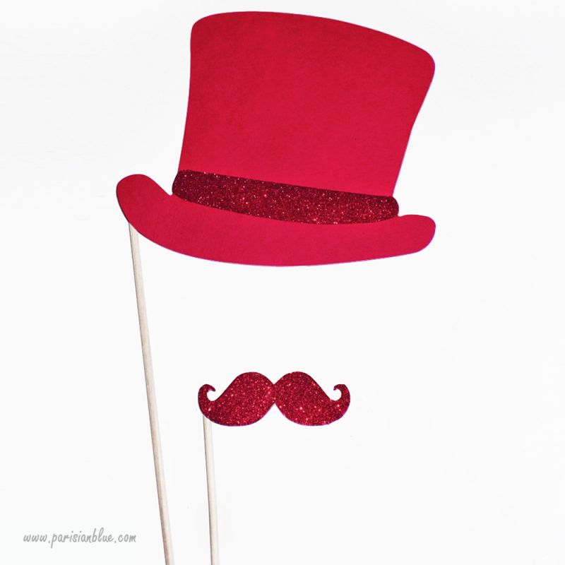 Photobooth accessoire dandy animation photobooth mariage lyon for Accessoire deco rouge