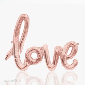 ballon love lettres love foiled balloon northstar foil balloon anniversaire petite fille princesse fete fée