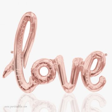 Maxi Ballon Love Ecriture Mylar