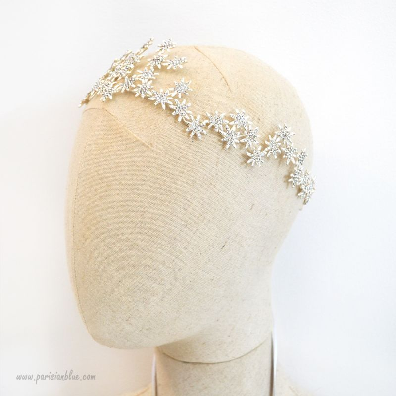 adoline bijoux de cheveux strass diademe ballerine luxe. Black Bedroom Furniture Sets. Home Design Ideas