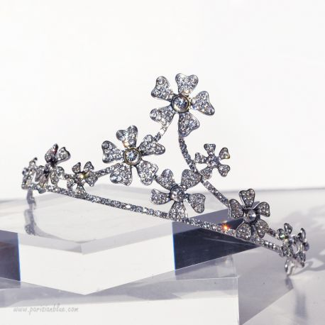 diademe princesse luxe diademe mariage strass etoile dressing de fete luxe paris headpiece