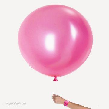Maxi ballon Nacre Rose Intense