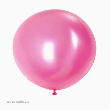 ballon 1 metre nacre rose vif rose fuschia anniversaire princesse