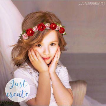 couronne de fleur sur mesure mariage couronne de fleur bapteme enfant cortege mariage couronne fleur demoiselle honneur 2017