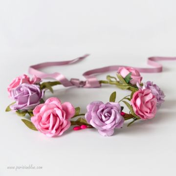 Alice - Couronne de Roses Duo