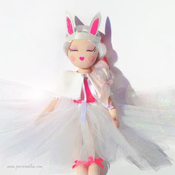Poupée Ballerine Petit Lapin - Avril