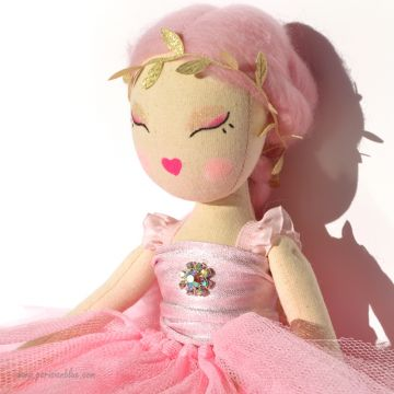 Poupée Ballerine Rose - Adria