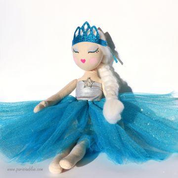 poupée de chiffon art doll poupee ballerine soft doll ragdoll poupee danseuse luxe paris fait main peinte main