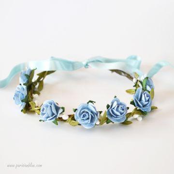 Annie - Couronne de Roses Anglaises