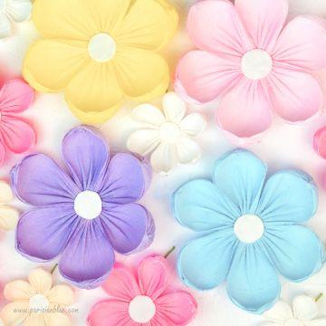 Un maxi mur de 16 Fleurs