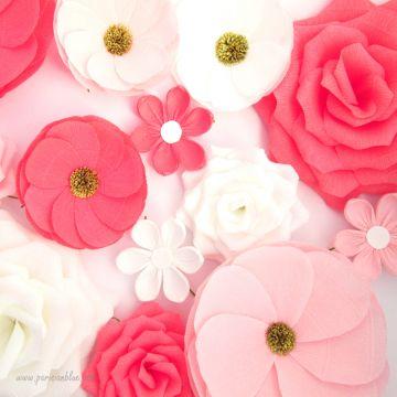 Un maxi mur de 12 Fleurs