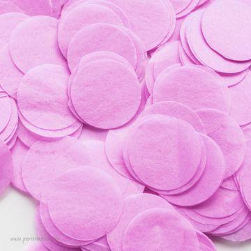 Larges confettis papier de soie Lilas