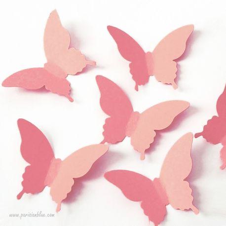 Confettis Papillon Pêche