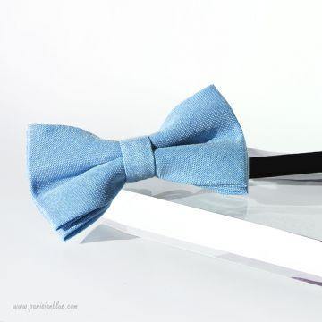 noeud papillon enfant bleu clair