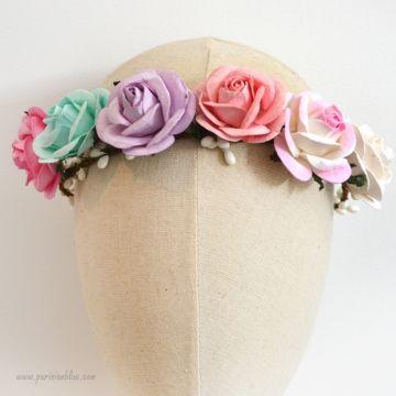 Nina- Couronne de Roses