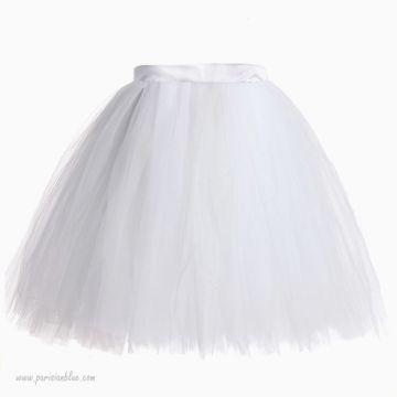 Tutu de Fête Sur Mesure Blanc - Clarisse