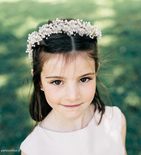couronne fleurs enfant