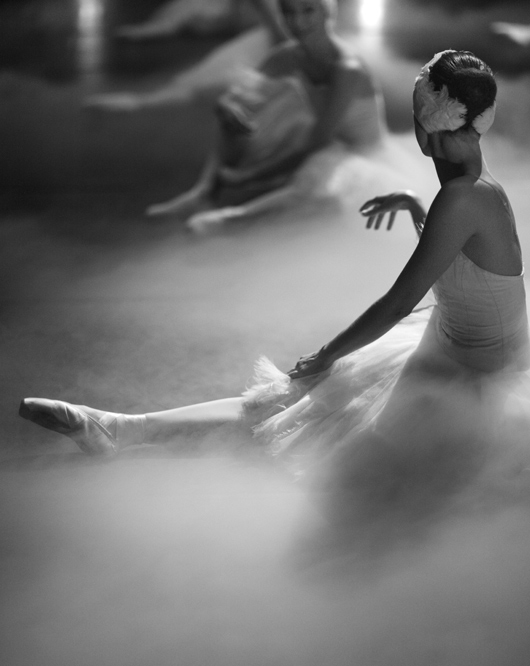 ballerine sur scène