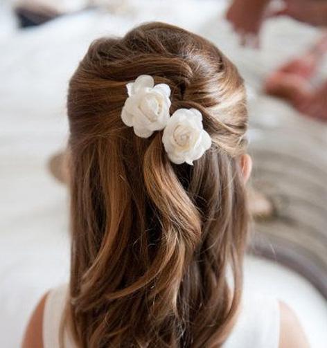 peignes fleurs cheveux